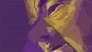 homme violet ébauche du midi