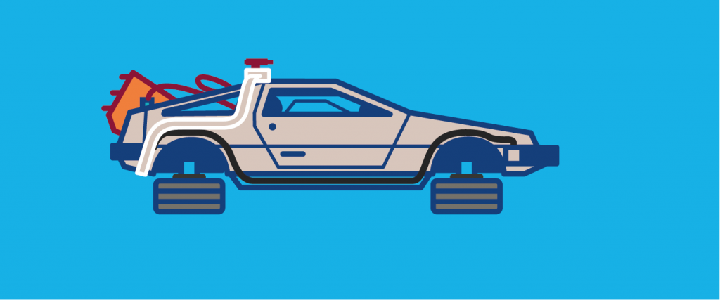 deLorean Plan de travail 7@4x