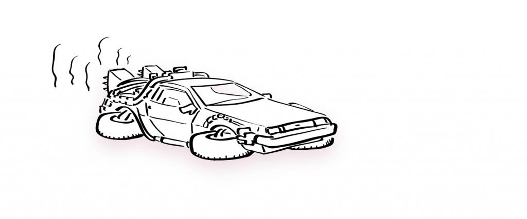 deLorean Plan de travail 8@4x